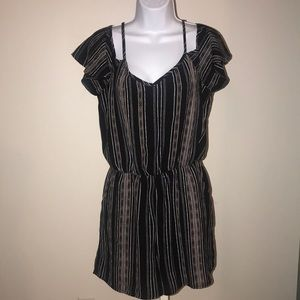 Maurice's cold shoulder romper Small